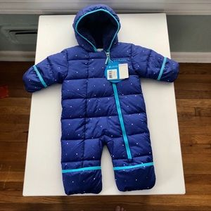 NWT! Columbia Snowsuit baby bunting size 3-6 month